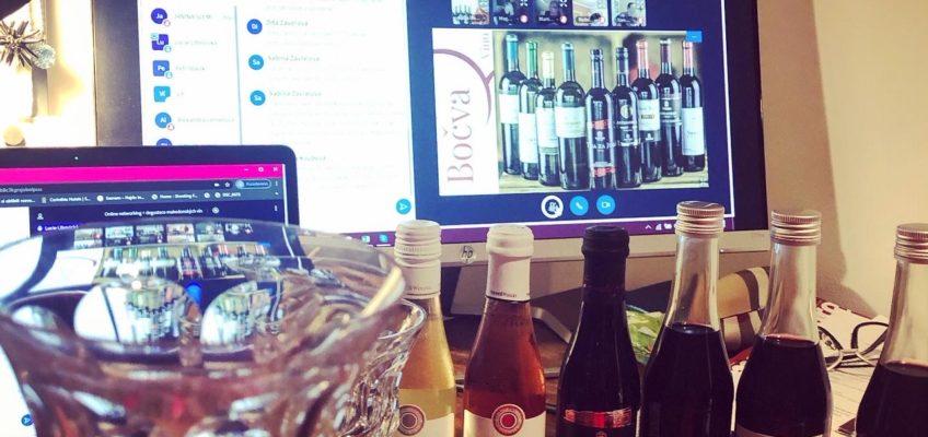 Online degustace makedonských vín + networking