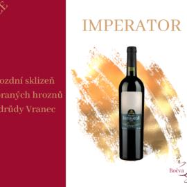 Luxusní víno Imperator v akci