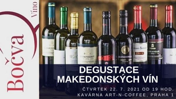 Degustace makedonských vín 22.7.2021