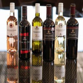 Degustační balíček makedonských vín